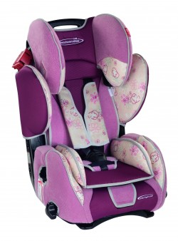Storchenmühle Child Car Seat Starlight SP, Pink Flower, Special Offer