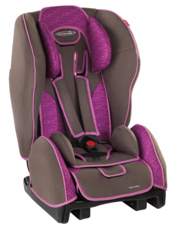 Storchenmühle Child Car Seat Twin One in berry, Special Offer