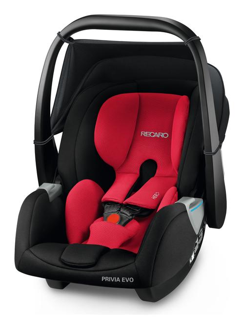Recaro infant carrier Privia Evo Racing Red, Special - Bambinokids