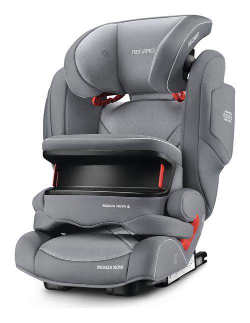 Recaro Monza Nova IS Seatfix Aluminium Grey - Bambinokids