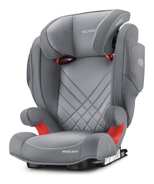 Recaro Monza Nova 2 Seatfix Aluminium Grey - Bambinokids