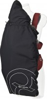Cybex Wind and weather proctection for Cybex baby carriers first.go and 2.go in grey