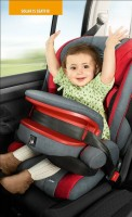 Storchenmühle Child Car Seat Solar IS Seatfix (Isofix) in rosy - Special Offer -