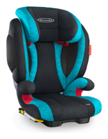 Storchenmühle Child Car Seat Solar IS Seatfix (Isofix) in lagoon - Special Offer -