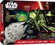 Giochi Preziosi 70152021 - Star Wars Science Millennium Falken Lichtstrahler