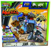 Giochi Preziosi 70684151 - Trash Pack Wheels - Polizeistation / Junk Jailhouse