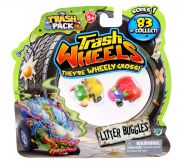 Giochi Preziosi 70681391 - 3-pack Trash Pack Wheels with 2 garbage monster cars per package