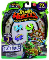 Giochi Preziosi 70684081 - 3-part Trash Pack Wheels #3 with 2 garbage monster cars each