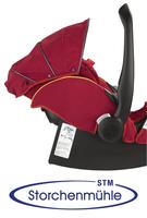 Storchenmühle Twin 0+ Rückeneinstellung für ältere Kinder