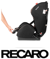 Recaro young Expert Plus reclining position