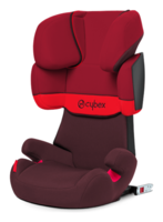 Cybex Solution X-fix in Rumba Red - dark red, Isofix