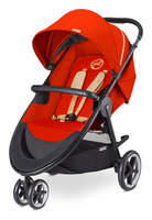 Cybex Agis M-Air 3 in Autumn Gold - burnt red (2016)