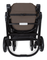 Cybex Iris M-Air folded view from the back