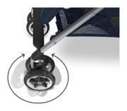 Cybex Onyx mit Rotationsbremse