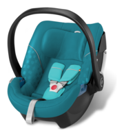 Goodbaby GB Babyschale Artio Capri Blue - turquoise, Isofix möglich