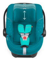 Goodbaby Artio 8 position height adjustable headrest