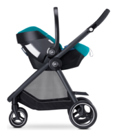 Goodbaby Artio with a stroller as travel system