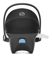 Cybex Aton M view from the back with activated lsp