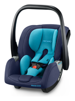 Recaro Privia Evo with closed sun canopy