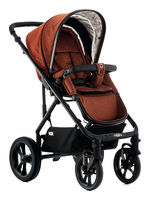 Moon LUSSO City with carry cot ginger - fishbone
