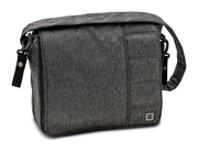 Moon Wickeltasche Messenger Bag stone - fishbone