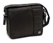Moon Wickeltasche Messenger Bag City black - fishbone