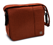 Moon Wickeltasche Messenger Bag City ginger - fishbone
