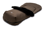 Moon Footmuff for prams City brown - fishbone