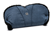 Moon Hand Muff for prams City ocean - fishbone