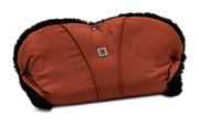 Moon Hand Muff for prams City ginger - fishbone