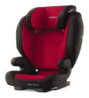 Recaro Monza Nova Evo Seatfix Racing Red, Isofix