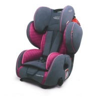 Storchenmühle Child Car Seat Starlight SP PRO in rosy, pink, Special Offer