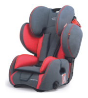 Storchenmühle Child Car Seat Starlight SP PRO in chilli, red, Special Offer