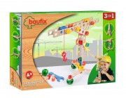 Baufix construction with 70 Baufix construction wooden parts, Article 13110280