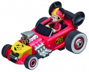 Carrera First! Mickey and the Roadster Racers Fahrzeug Mickeys Hot Doggin Hot Rod