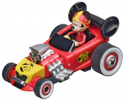 Carrera First! Mickey and the Roadster Racers car Mickeys Hot Doggin Hot Rod