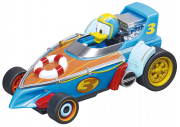 Carrera First! Mickey and the Roadster Racers Fahrzeug Donalds Cabin Cruiser