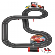 Carrera First! Disney Pixar Cars 3 track assembled