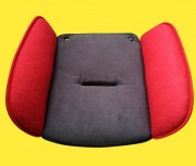 Seat reducer for child seat in red for Storchenmühle Starlight SP, - SP PRO, Recaro Young Sport and Young Sport Hero