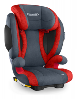 Storchenmühle Child Car Seat Solar 2 Seatfix, Solar IS Seatfix (Isofix) with Impact Shield in chilli, ECE I-III, Special Offer