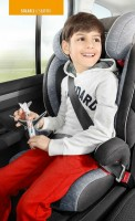 Storchenmühle Child Car Seat Solar 2 Seatfix, Solar IS Seatfix (Isofix) with Impact Shield in lagoon, ECE I-III, Special Offer