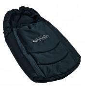Storchenmühle Fußsack in schwarz für Storchenmühle Twin 0+ und Recaro Young Profi Plus